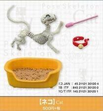 Miniatures (Rement) Pose Skeleton Cat Re-ment