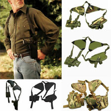 Tactical Military Left&Right Pistol Hand Gun Holster Double Shoulder Holster Bag