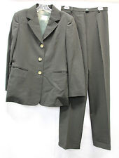 Gianfranco Ferre Studio Womens Wool Pant Suit Size 8 - 12 Excellent Used 2442