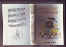 contes et legendes de bretagne - edition fernand nathan
