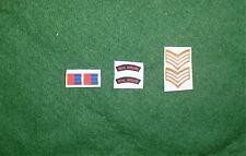 1/6 Segunda Guerra Mundial artillería británica Royal hombro títulos Parche juego de lote