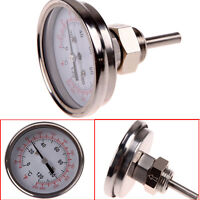 Dial Stainless Steel Cooking/ BBQ Pit Thermometer Temperature Gauge Kitchen Tool