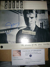 Sting Signed Autograph the Police COA A