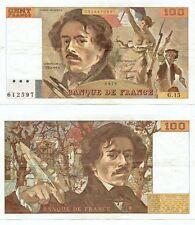 100 FRANCS DELACROIX de 1979  G. 15
