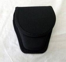 Koppel Handschellen Tasche Schwarz  Gürteltasche Bundeswehrtasche Security