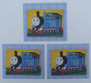 PK 3 THOMAS THE TANK EMBELLISHMENT TOPPERS FOR CARDS S2