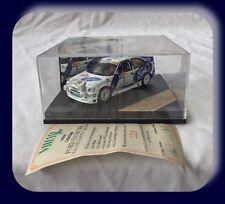 Vitesse 1:43  Ford Escort WRC Monte-Carlo Rally 1998 J Kankkunen / J Repo