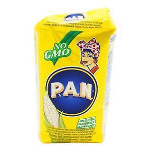 1kg Pan Mehl vorgekochtes weisses Maismehl (gelb) Harina de Maiz Blanco