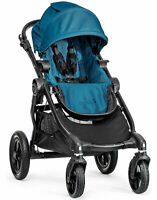 Baby Jogger City Select All Terrain Single Stroller Black Frame Teal