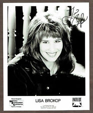 1999 Lisa Brokop Autographed  8x10 Fan Club photo ...