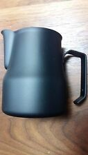 MOTTA BLACK  MILK PITCHER Jug 50 CL STAINLESS STEEL !!! MADE in ITALY