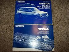 1987 Nissan Pathfinder Owner User Guide Operator Manual STD E SE XE 2.4L 3.0L V6