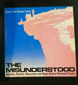 The Misunderstood: Before the dream faded. Vinyl LP