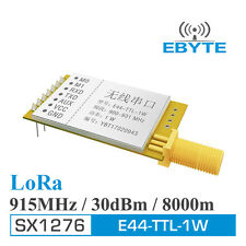 Free shipping 8km long distance 915MHz SX1276 915M LoRa transmitter and receiver