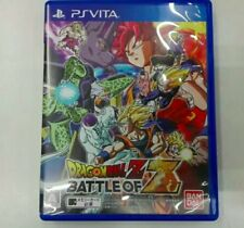 Good condition Dragon Ball Z BATTLE OF Z PS Vita version F/S From Japan