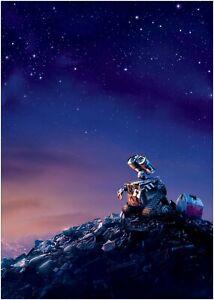 WALL-E Classic Movie Large Poster Art Print Maxi A1 A2 A3 A4