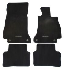 GENUINE MERCEDES E CLS CLASS W213 C257 2016-2020 RIBBED FLOOR MATS MAT SET USED