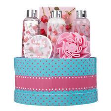6 Piece Wonderful Ladies Love and Sunshine Body & Bath Round Box Gift Set