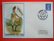 FIRST DAY COVER TIDWORTH TATTOO 26 MAY 1973