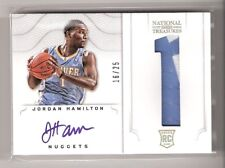 Jordan Hamilton 12/13 National Treasures patch Auto RC #123 SN #16/25