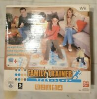 Family Trainer: Extreme Challenge Nintendo Wii Game & Mat, 2009 Namco 3+ PAL