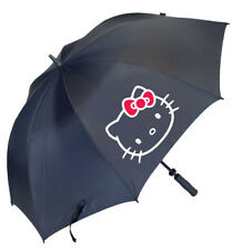 Hello Kitty go sanrio Golf large Umbrella black