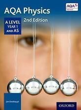 AQA Physics A Level Year 1 and AS Student Book - Jim Breithaupt (Paperback)  NEW