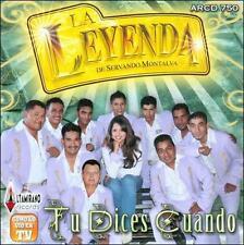 LA LEYENDA DE SERVANDO MONTALVA - TU DICES CUANDO * NEW CD