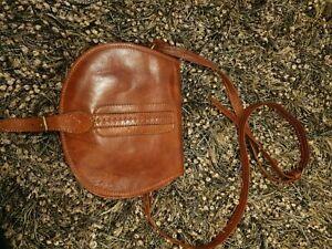 Ladies Leather Brown Shoulder Bag