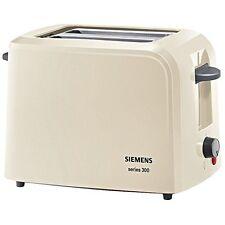 Siemens TT3A0107 Creme Elektro-Klein Toaster Brötchenaufsatz 980 Watt