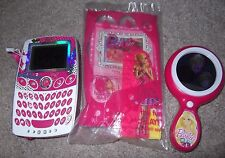Barbie pocket learner texting game magic mirror fun travel bonus happy meal toy