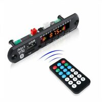 MP3 Module Bluetooth 5.0 Receiver Car Kit MP3 Player Decoder Board Color Screen