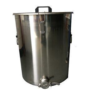50L Stainless Steel Honey Bucket With Honey Gate