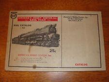 Vintage Americas Hobby Center 24th Year Rail Catalog #R30 Model Train - Railroad