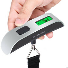 50 kg /110 lb Electronic Digital Portable Luggage Hanging Weight Scale Carry