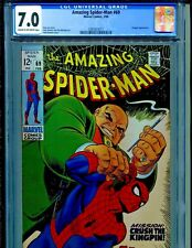 Amazing Spider-Man #69 Marvel Comics 1969 Kingpin CGC Graded 7.0
