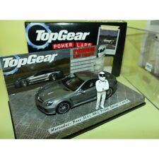MERCEDES SL65 AMG R230 Black Series Gris TOP GEAR MINICHAMPS 1:43