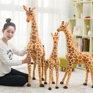 Big Plush Giraffe Toy Doll Giant Large Stuffed Animal Soft Doll Kid Gift 120cm