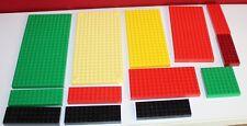 Lego Konvolut Bauplatte Platte hoch  Platten beidseitig bebaubar grüngelb,rot,