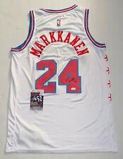 Lauri Markkanen signed Chicago Bulls jersey autographed JSA