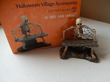 Department 56 Halloween (New) Is This Seat Taken #4030781 (Free Shipping)