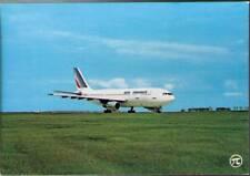 (wj9) Airplane Postcard: Air France, Airbus A300