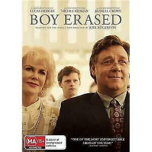 Boy Erased DVD (PAL, 2019) VGC, FREE POST