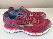 NEW Brooks Adrenaline GTS 15 Women's Shoes - Red/Blue - Sz 7