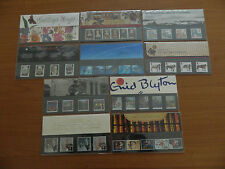 1997 YEAR SET OF 10 PRESENTATION PACKS IN MINT CONDITION (No's274 to 282 and G6)