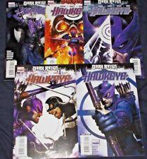 DARK REIGN : HAWKEYE #1-5 (NM-) Full Set! Avenger Clint Barton 2009/10