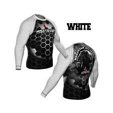 HighType Honey Badger IBJJF Ranked Long Sleeve Rash Guard BJJ MMA Fightwear