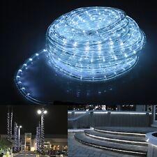 50' feet Deco xmas LED Rope Light Home Christmas Decorative Lighting Cool White