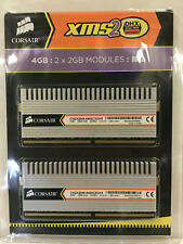 Corsair XMS 4GB PC2-6400 DDR2 SDRAM DIMM Kit TWIN2X4096-6400C5DHX
