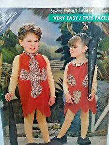 Butterick 5806 Costume Child Caveman  Size 1 size child  New sewing  pattern